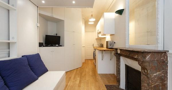 Rénovation studio 15 m² - Paris 14