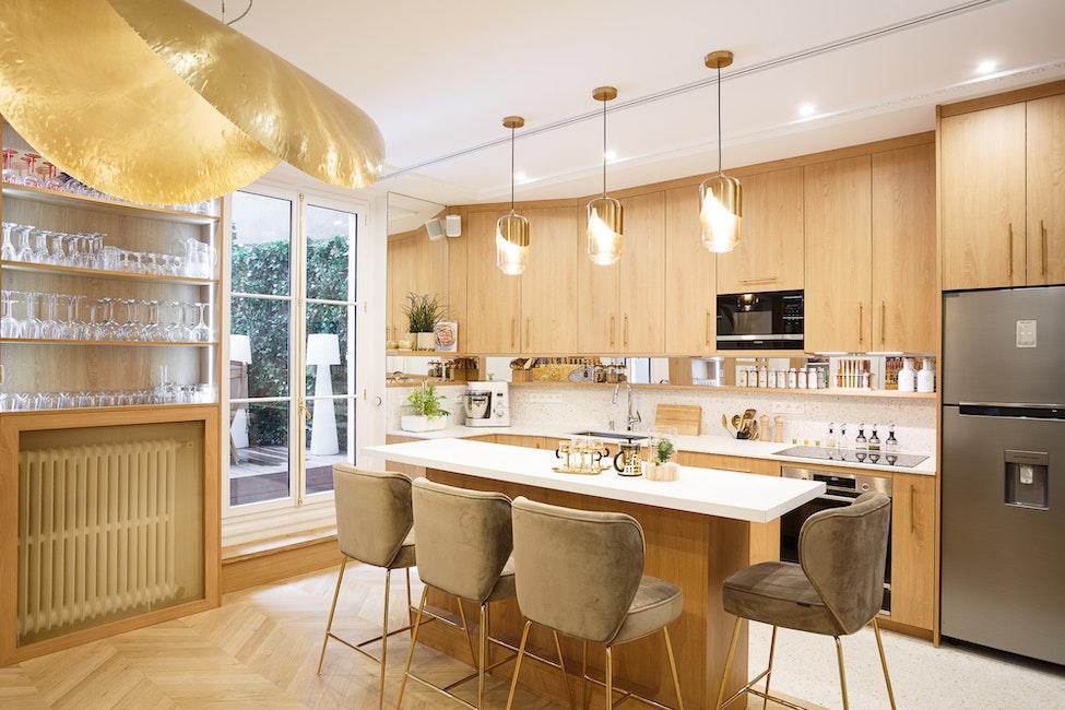 rénovation salon - appartement 115 m²