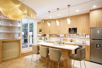 Rénovation d'un appartement d'artiste de 115 m² à Paris 8