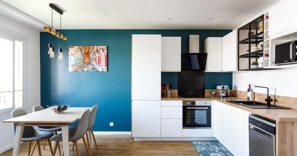 Rénovation Appartement de 54 m² - Courbevoie