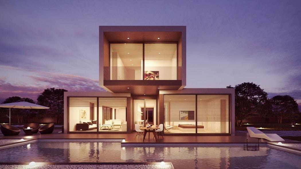 Maison d'architecte - vue 3D