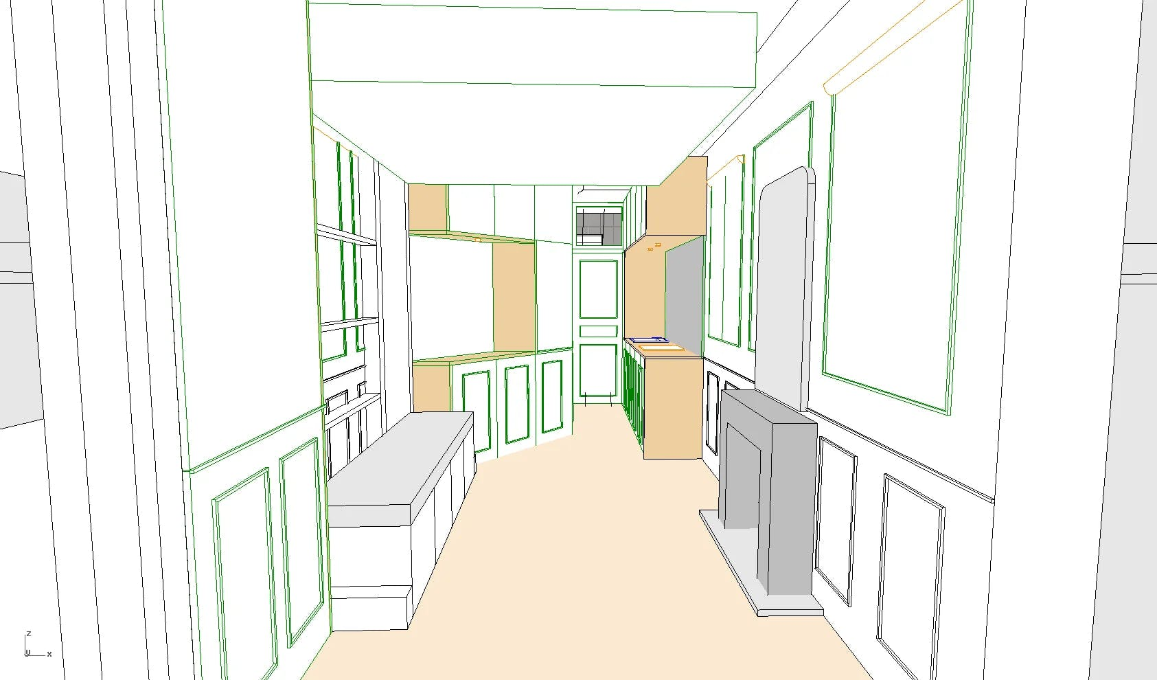plan 3d 2 rénovation studio