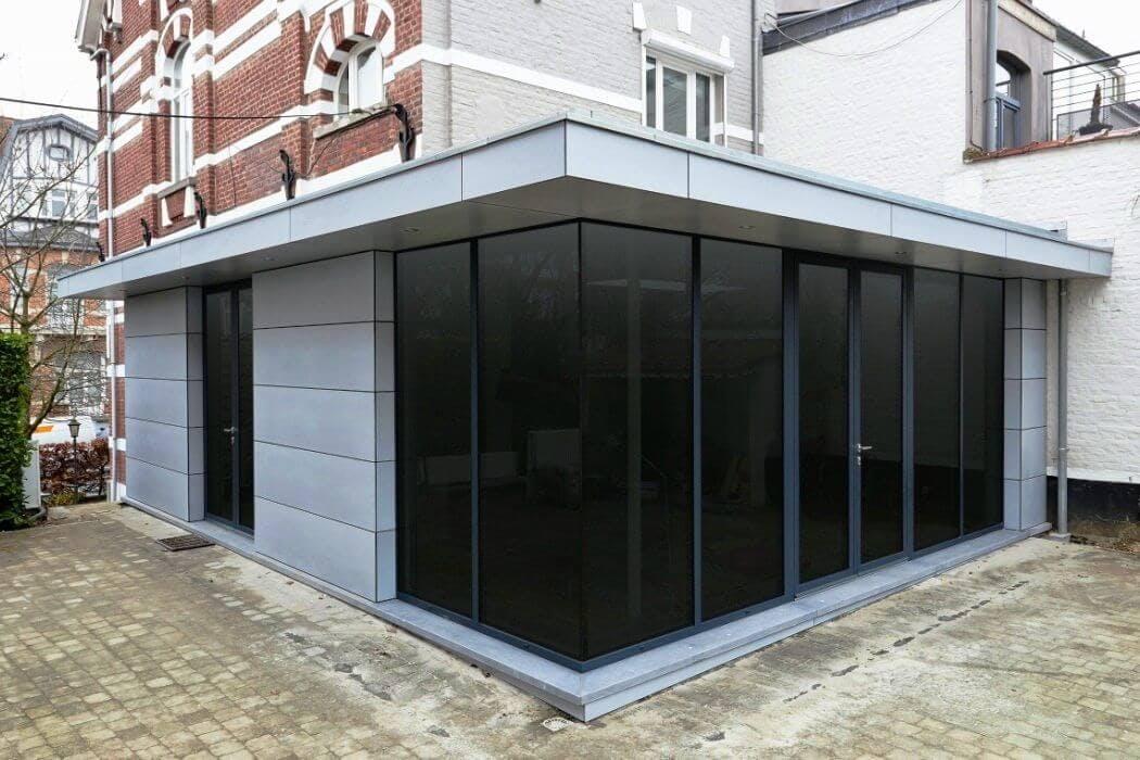 Extension de maison latérale