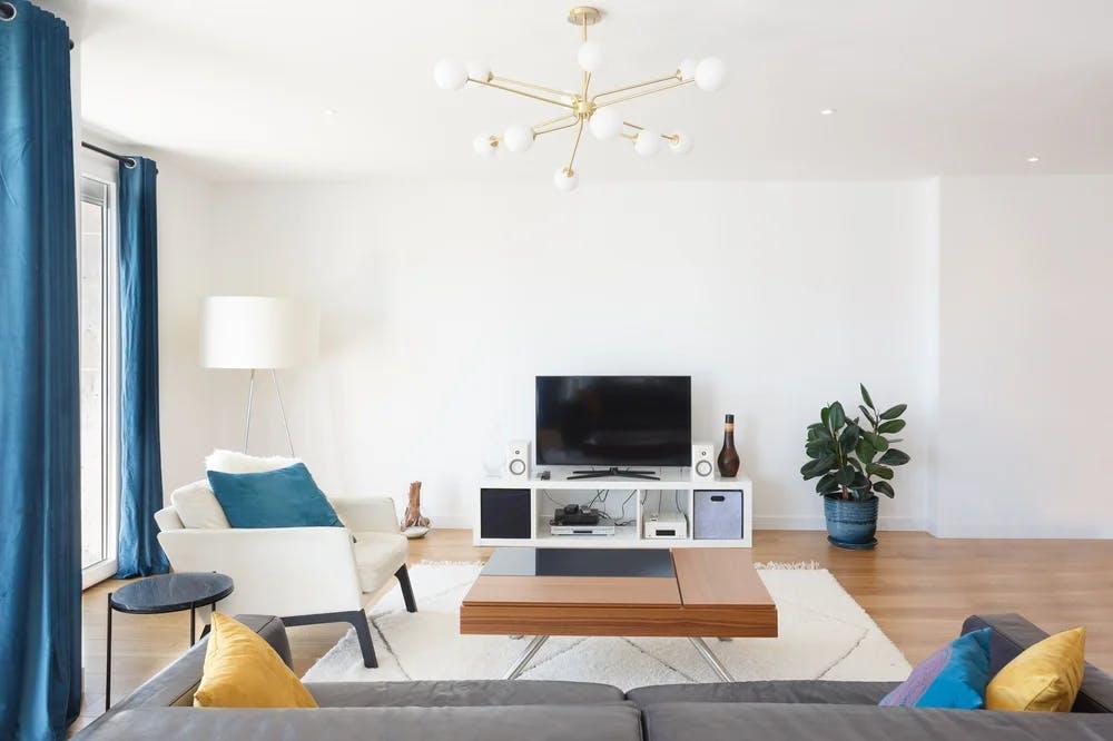 Salon sobre appartement 129 m² 1