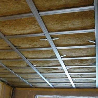 Isolation phonique ou acoustique du plafond