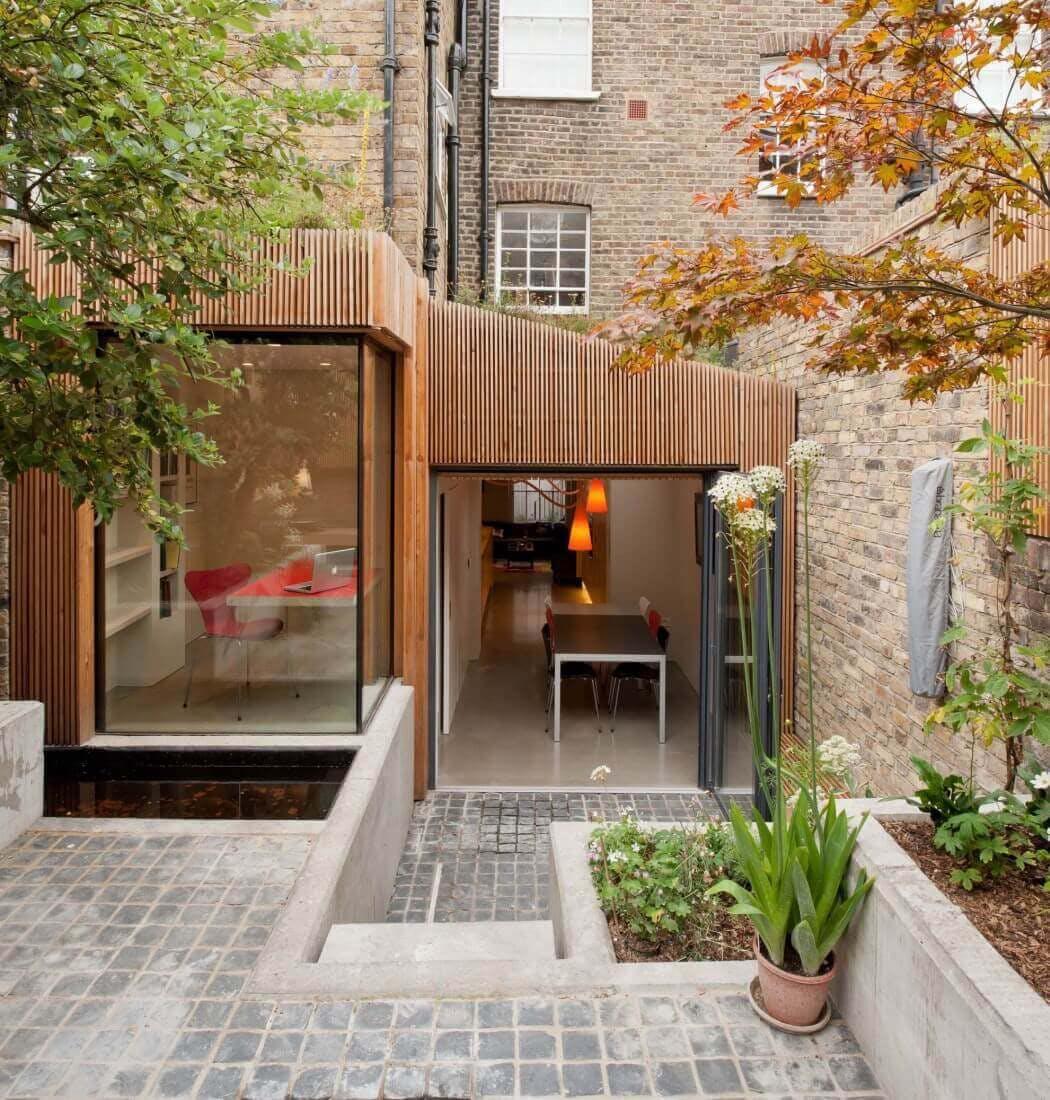 Cout aum² d'une extension de maison en bois