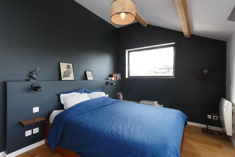 Chambre à coucher maison 200 m²