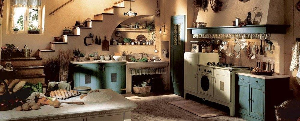 Cuisine rustique Marchi cucine, Doria