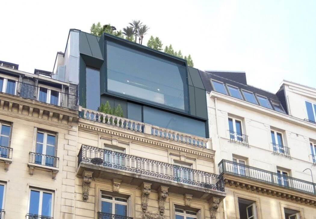Reglementation surelevation Paris