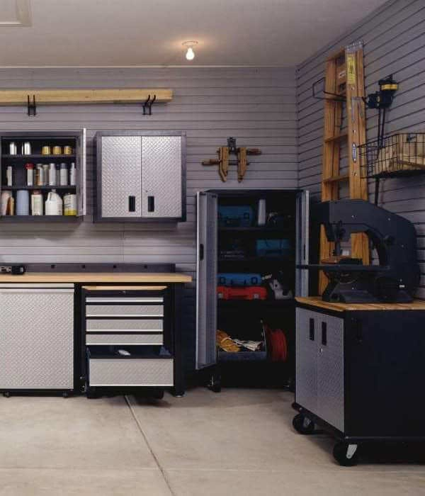 Meubles de rangement garage