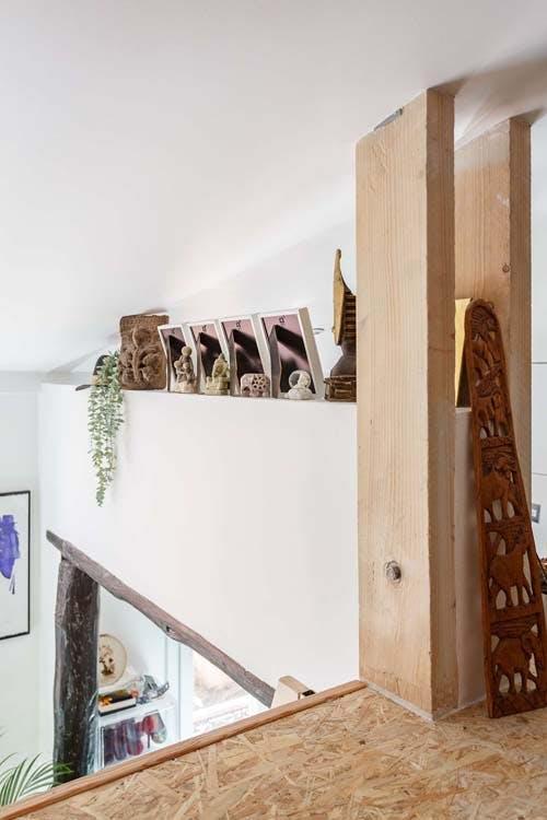 Mezzanine décorée