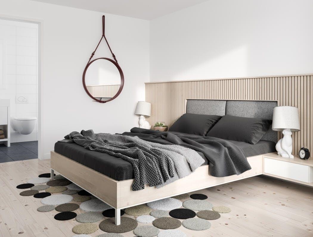 Intérieur d'un appartement rénové à Paris 15eme