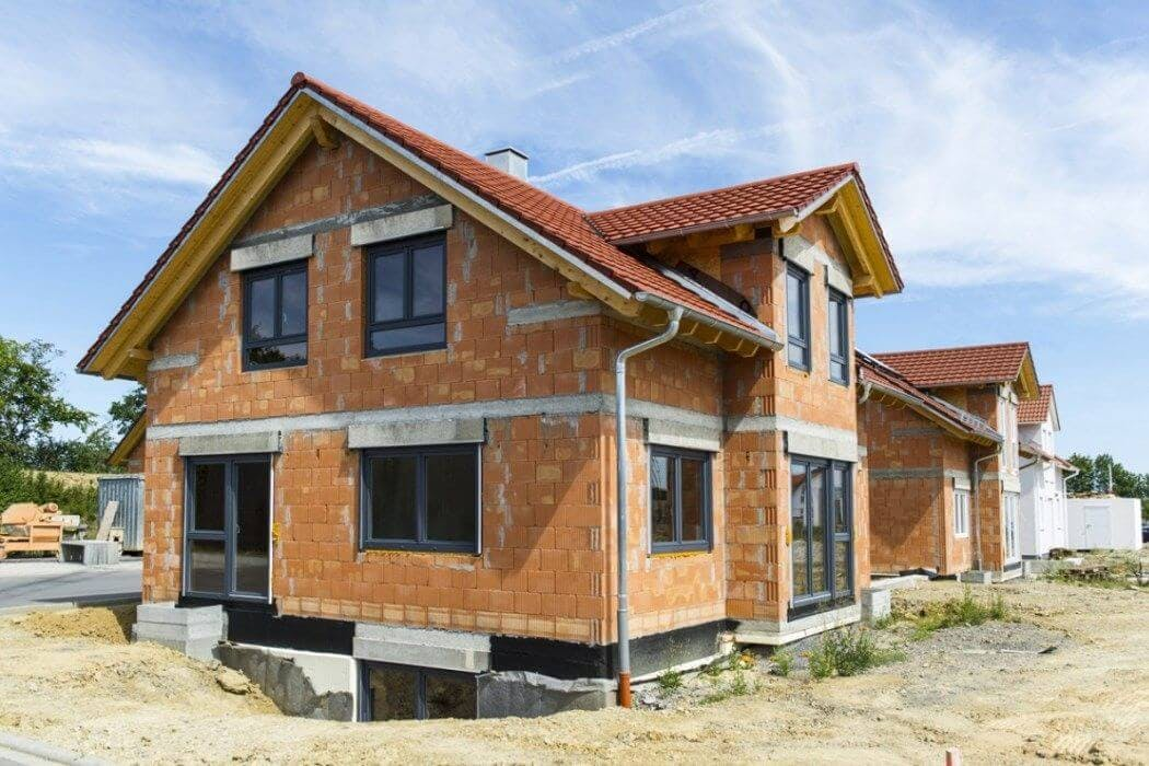 Gros œuvre d'une construction de maison