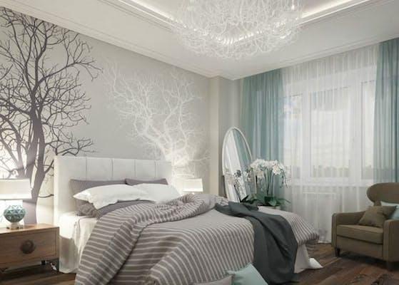 papier peint chambre cocon