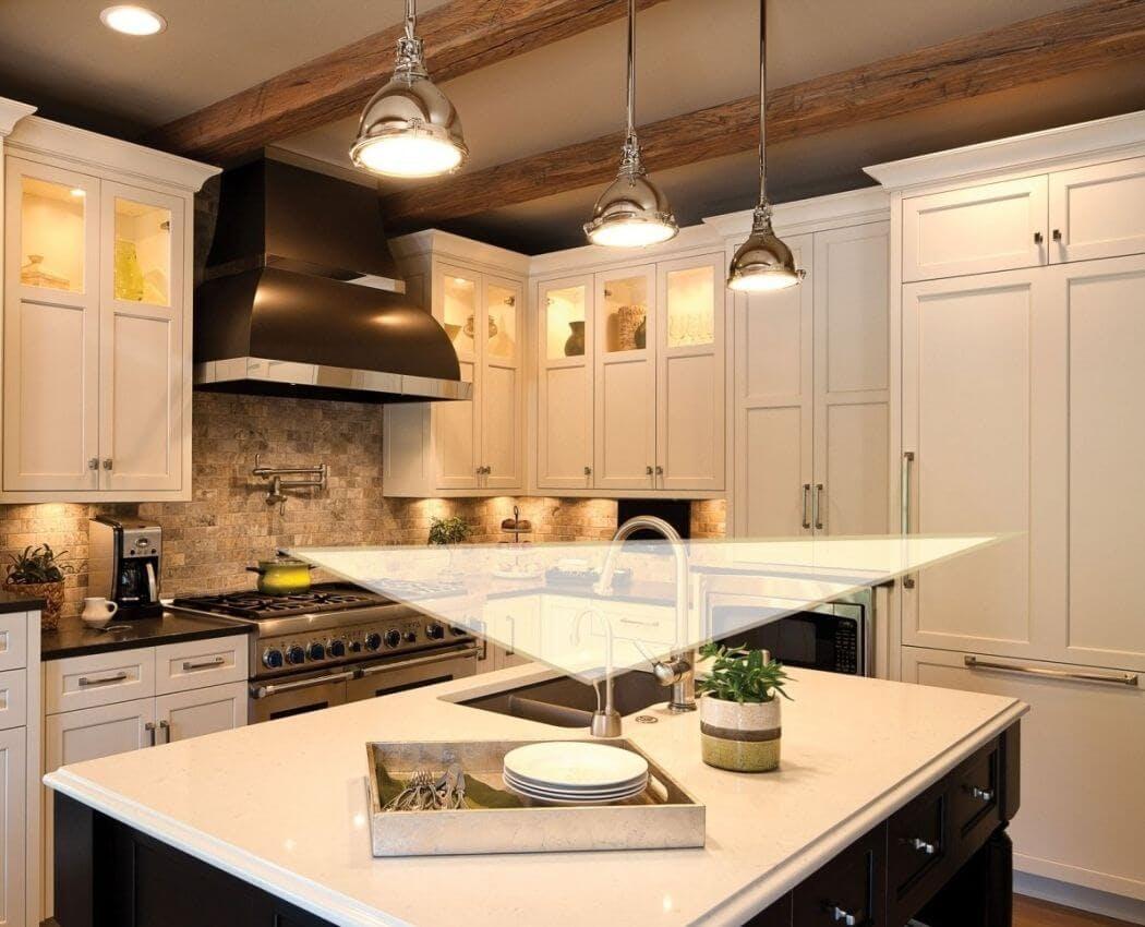 Triangle d'activité pour aménager une cuisine