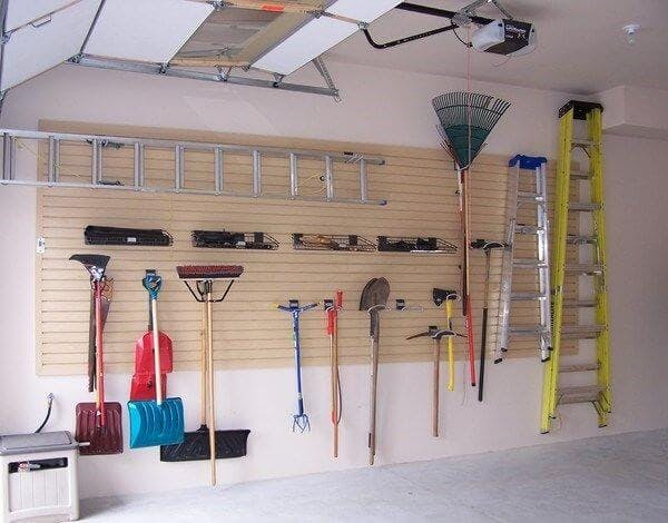Amenager un garage - trier et classer