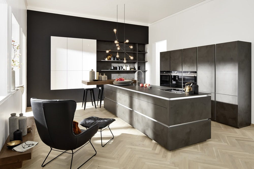 cuisine design ciment Nolte