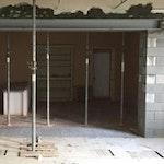 Ouvrir un mur porteur - pose des etais