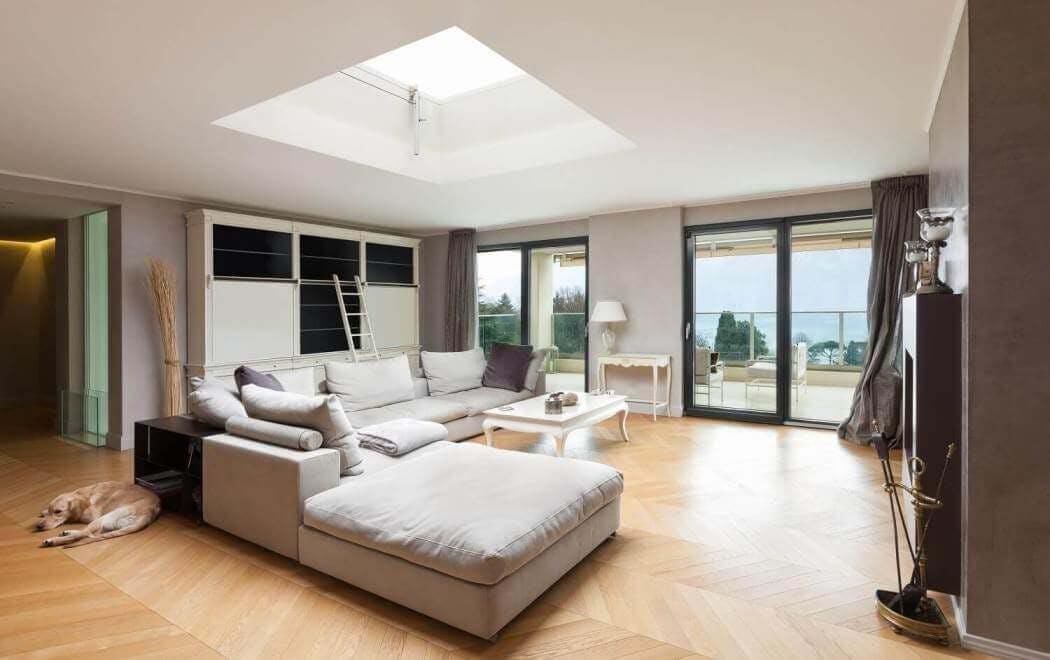 Fenêtre pour toit plat