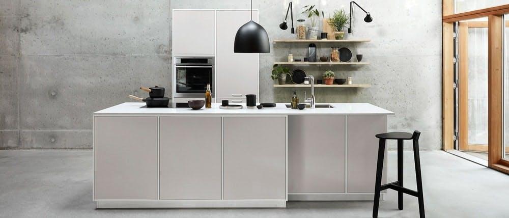 cuisine Kvik, design danois avec une touche tendance