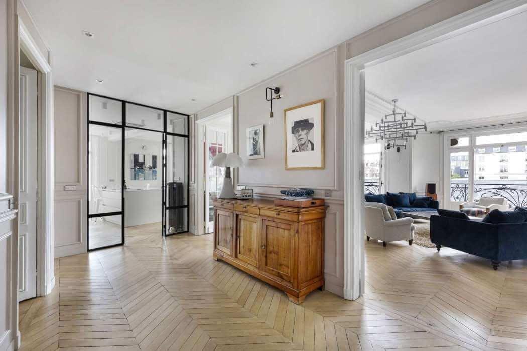 Rénovation appartement aux Batignolles (Paris 17eme)