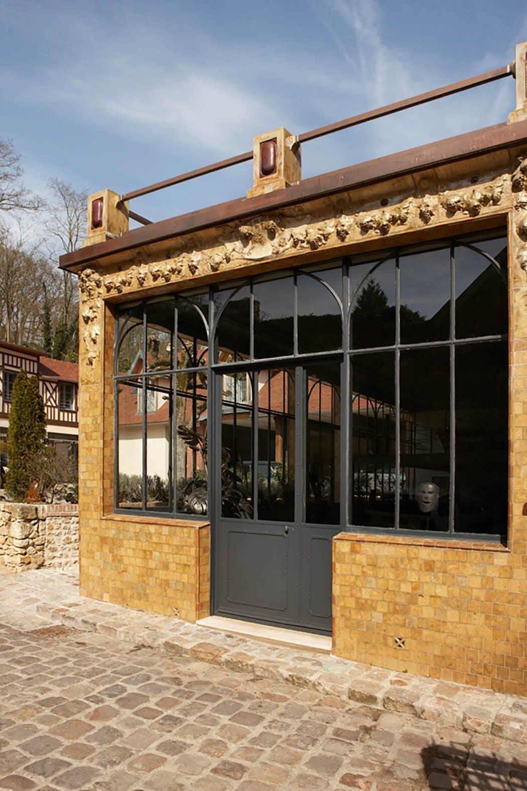 Préservation de l'authenticité de la façade de l'ancienne salle de réception