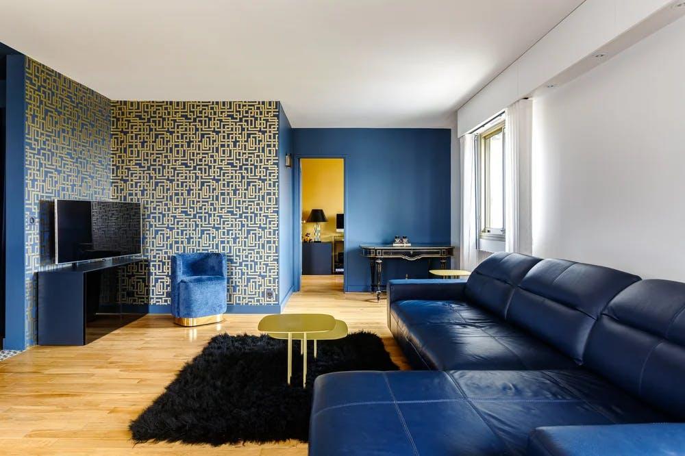 Rénovation séjour - Appartement 123 m²