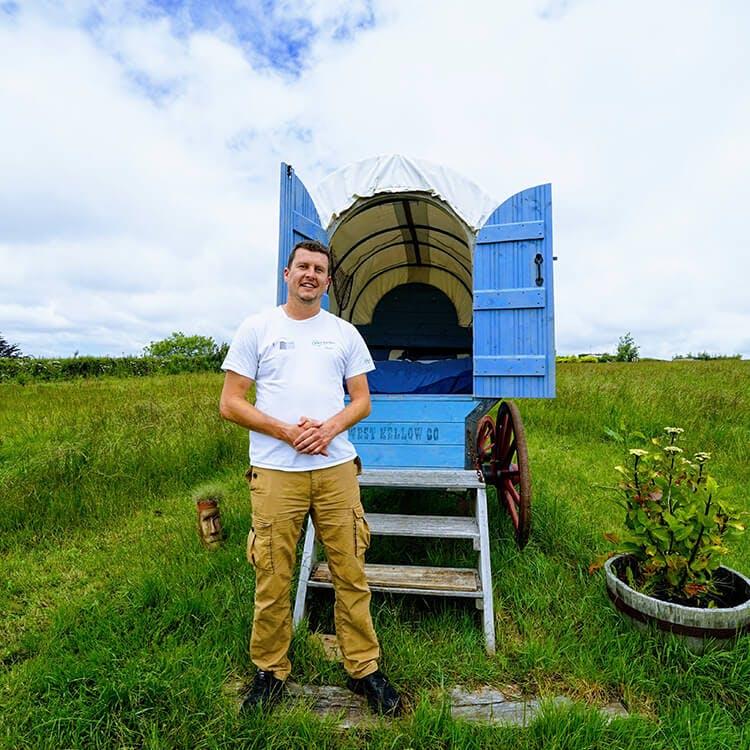 Photo of Matt from West Yellow Yurts