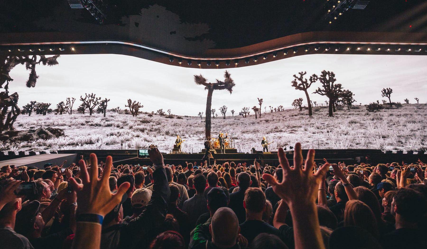 U2 Joshua Tree desert