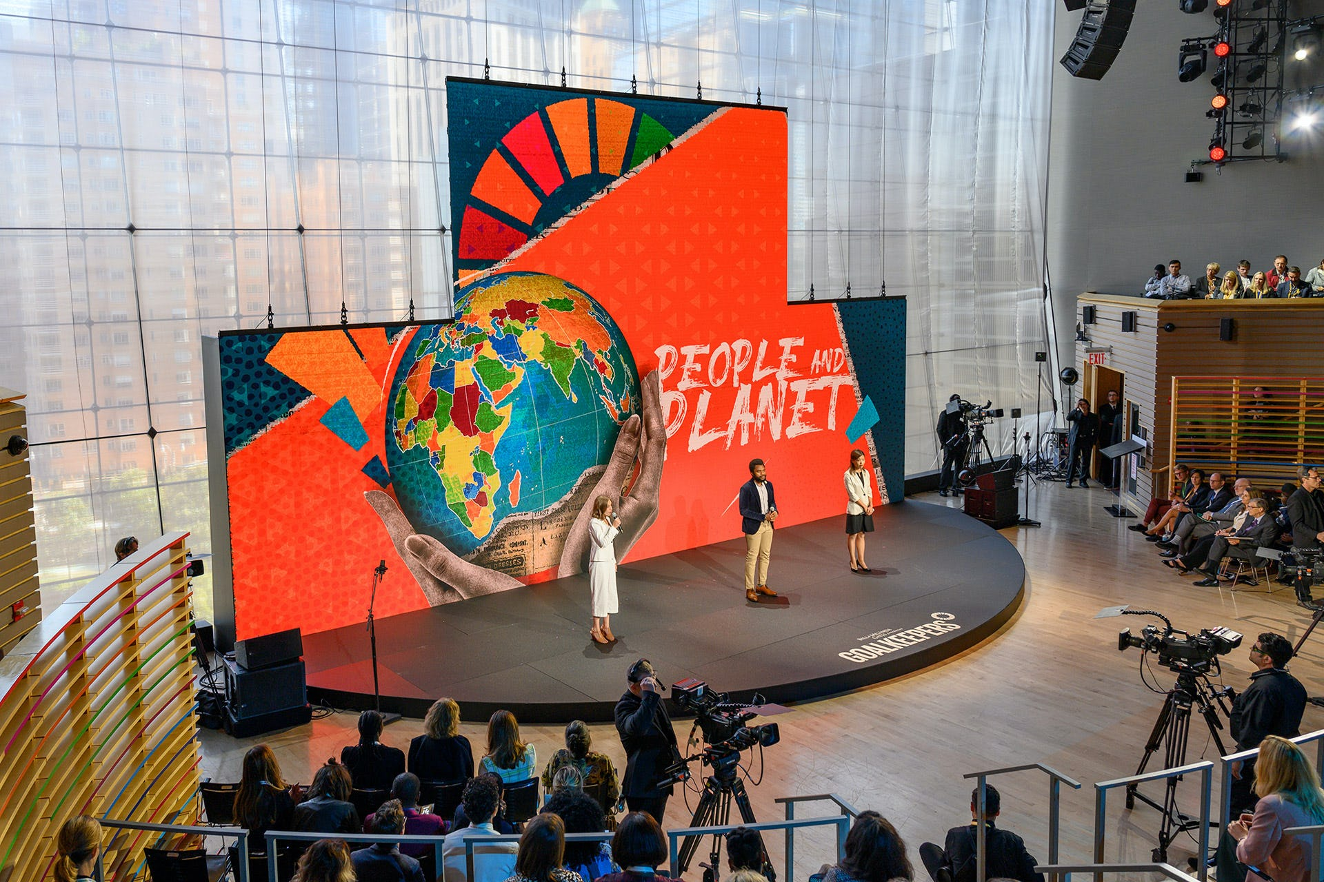 Goalkeepers 2019 people and planet