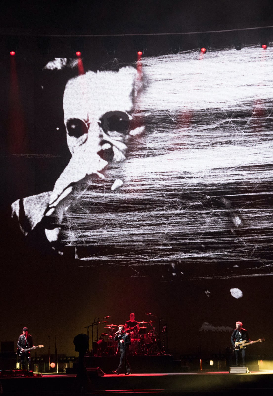 U2 Joshua Tree lines fade