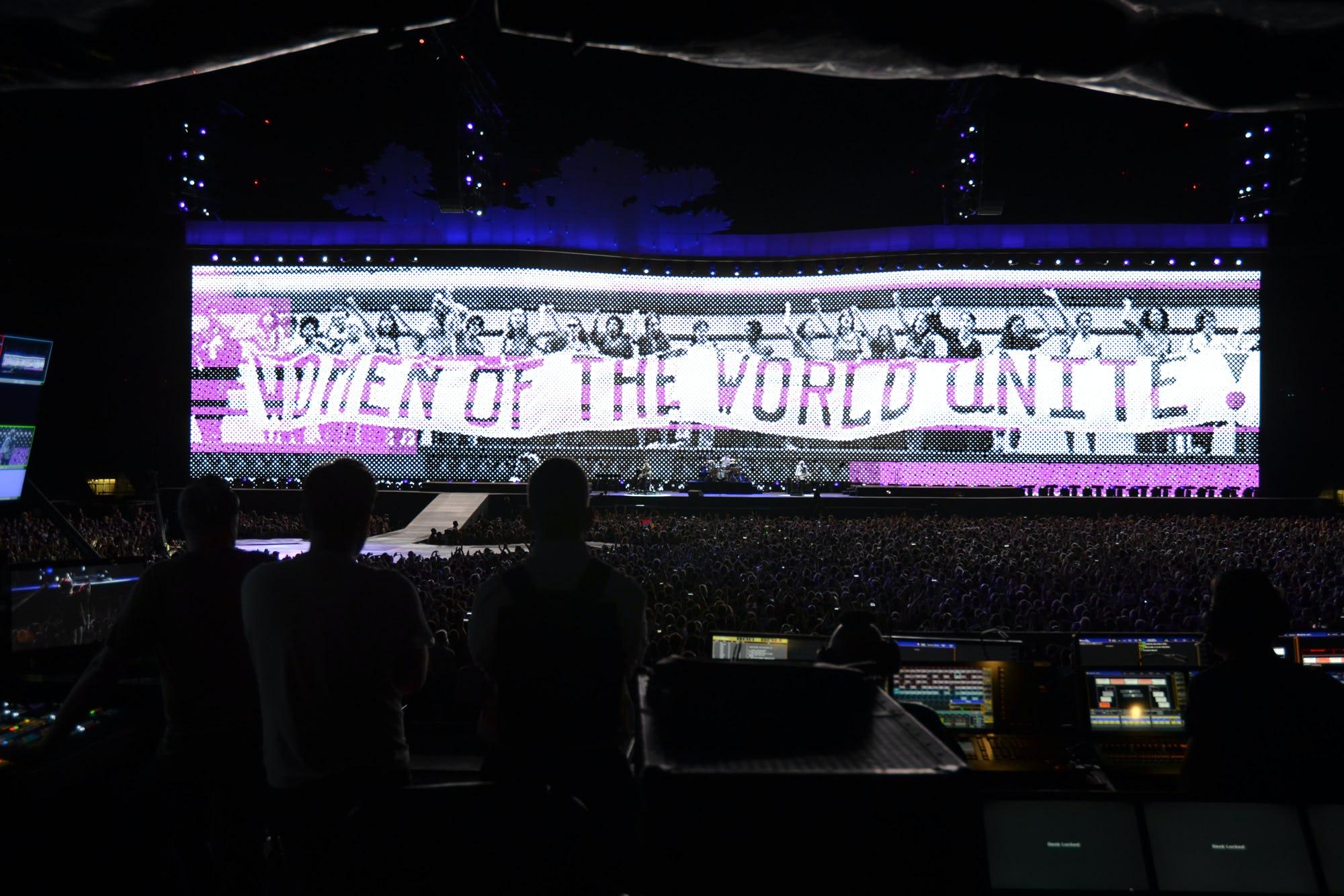 U2 Joshua Tree women of the world