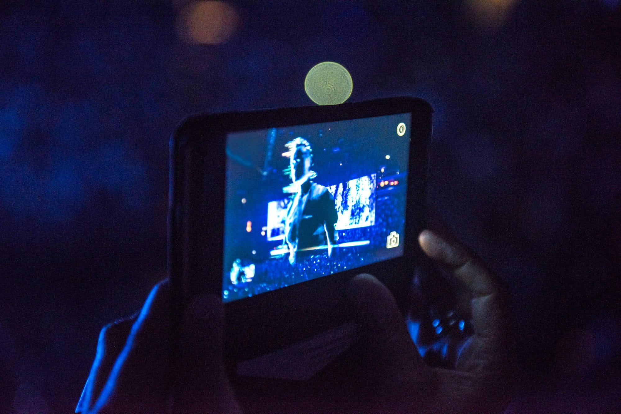 U2 AR mobile phone