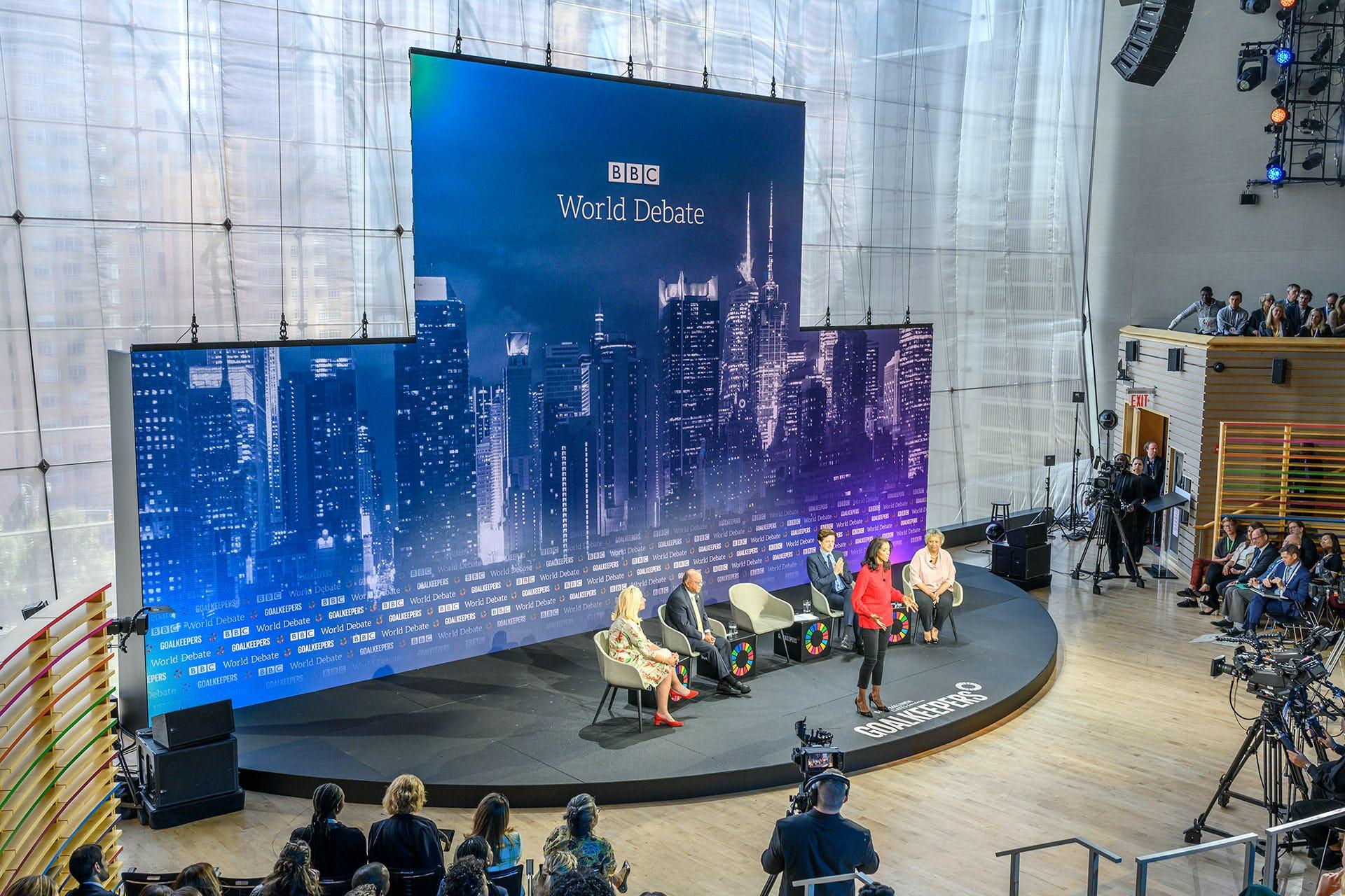Goalkeepers 2019 BBC World Debate