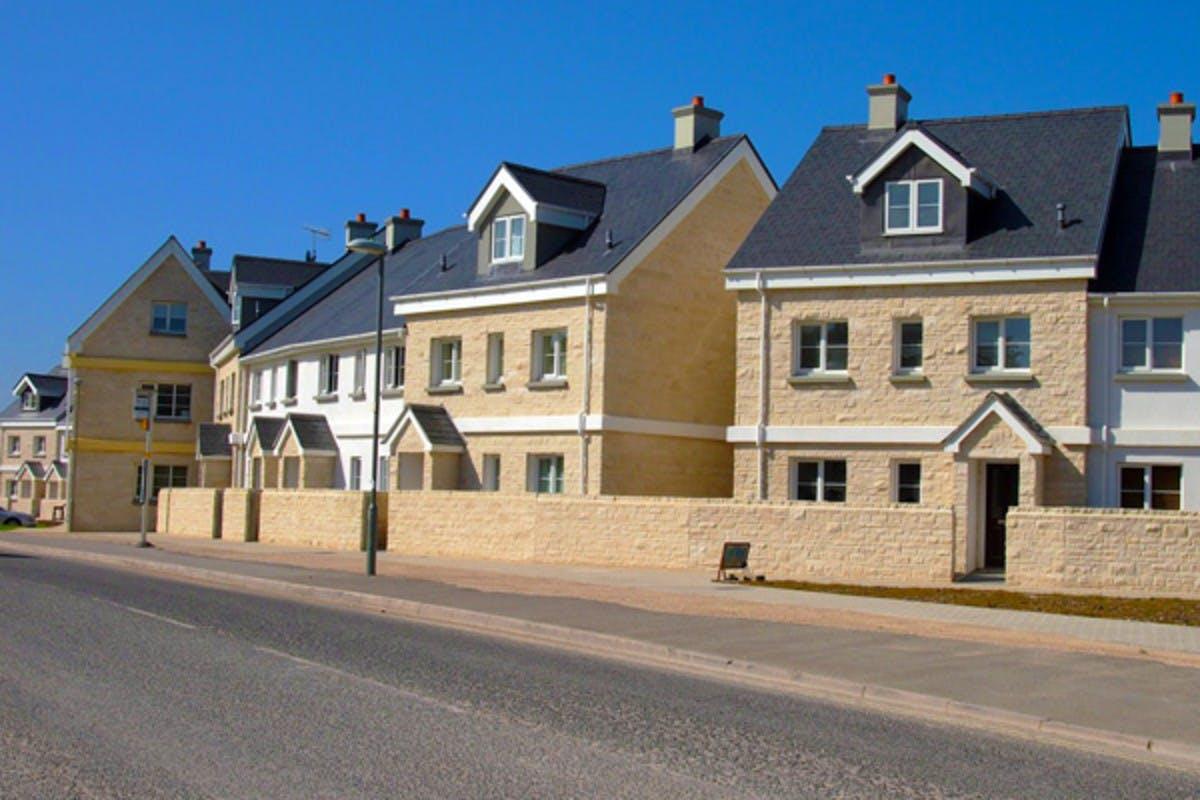 Perryfields Lomand Homes Portland Dorset, biomass district heating scheme