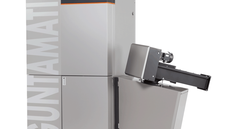 Guntamatic Powerchip biomass boiler