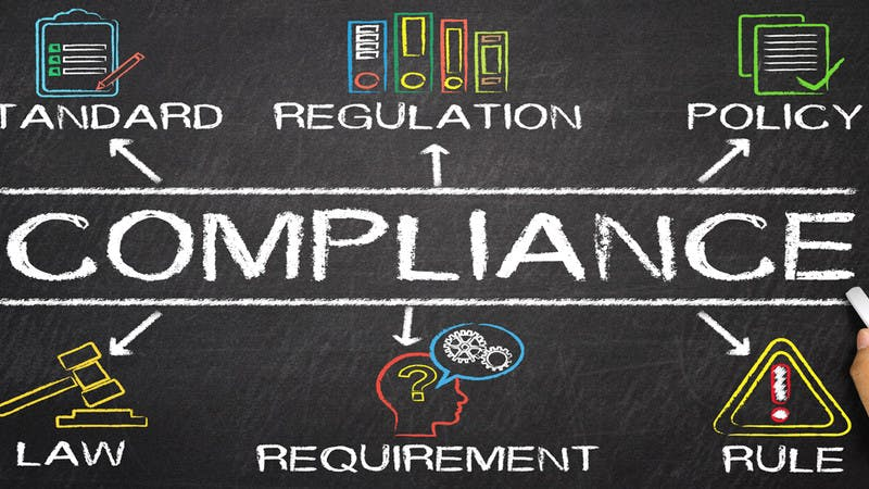 Compliance. Policy. Regulation. Rule. Requirement. Law. Standard