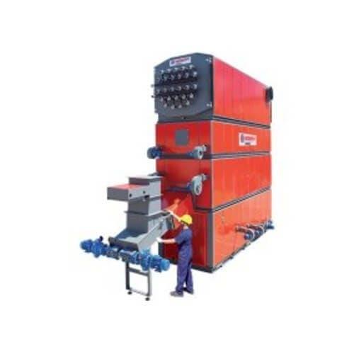 HTHW Biomass Boiler