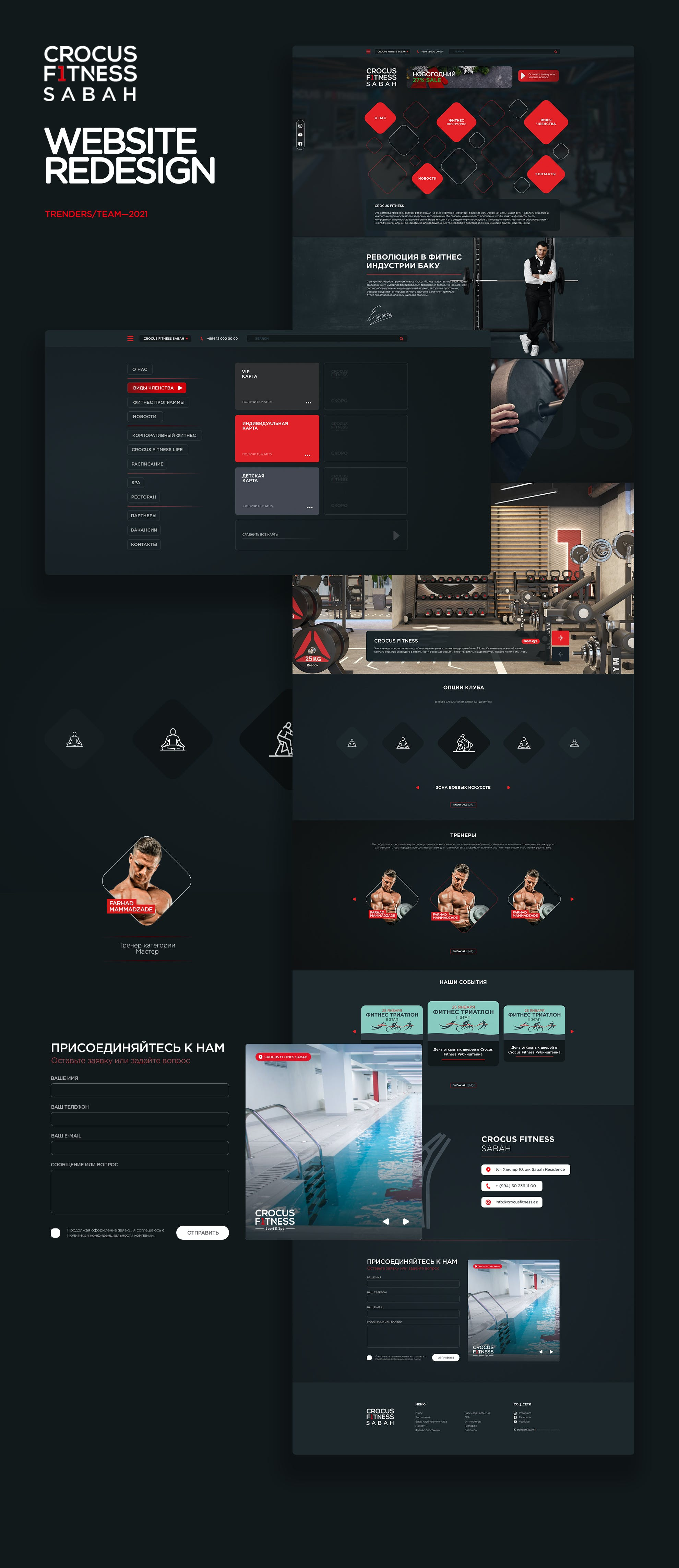 Crocus Fitness Website