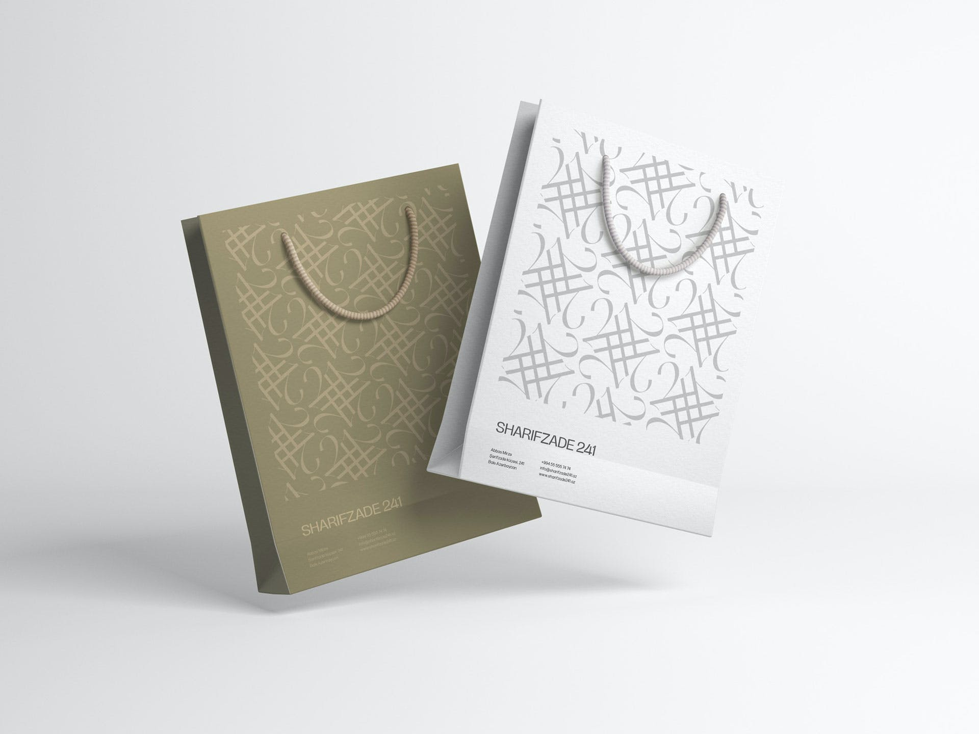 SHARIFZADE-241 BRANDING - Paper bag