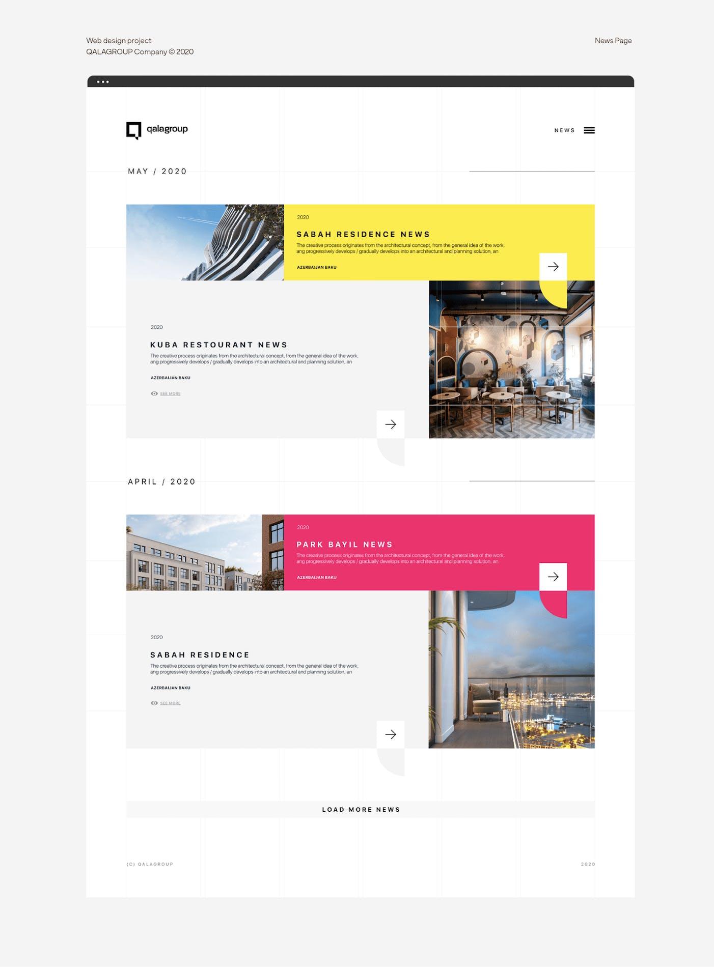 Qala Group - News feed