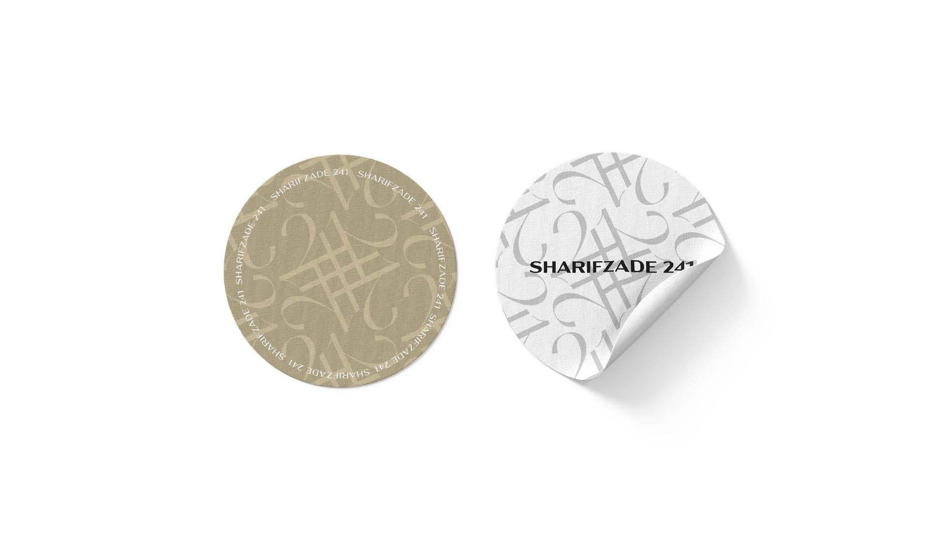 SHARIFZADE-241 BRANDING