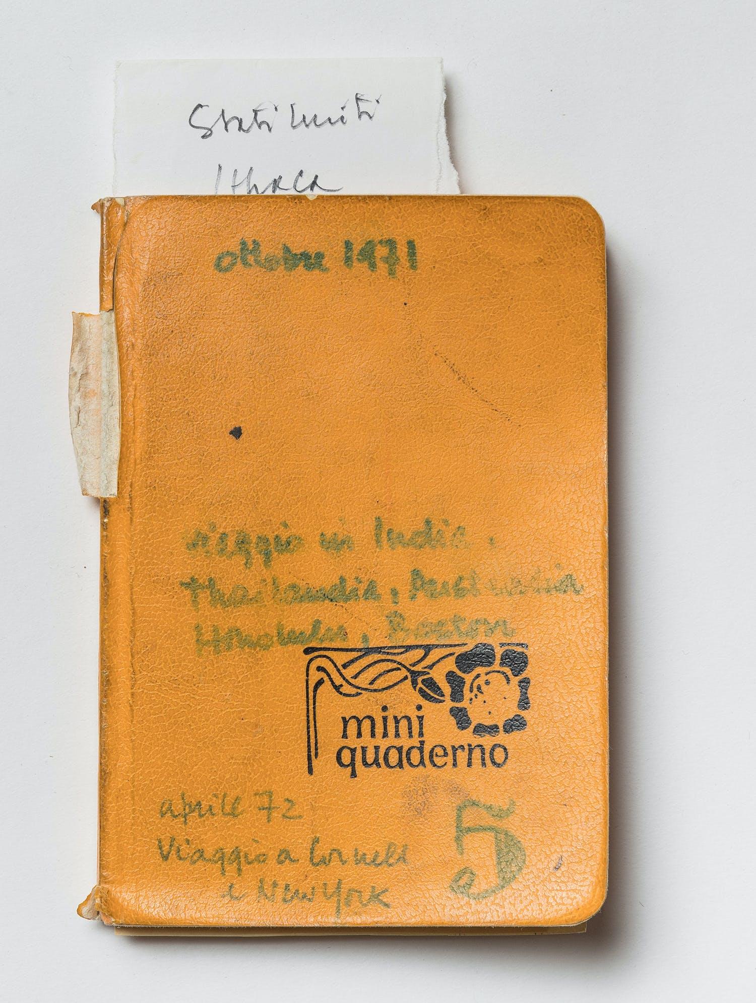 Diario cinque, Giancarlo De Carlo, 1971-1972, foto di Gianluca di Ioia