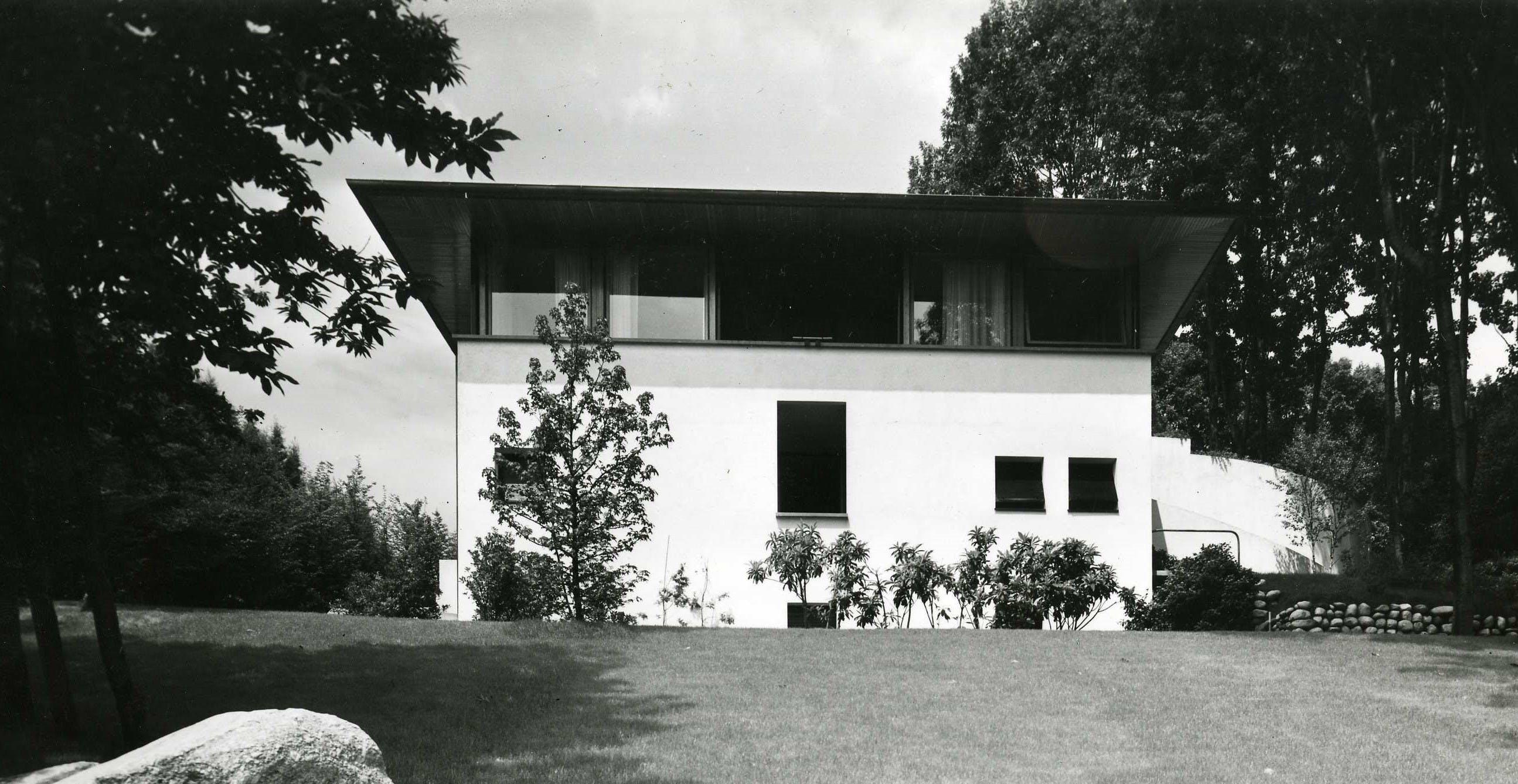 Casa Cassina Carimate, 1965, Foto di Casali