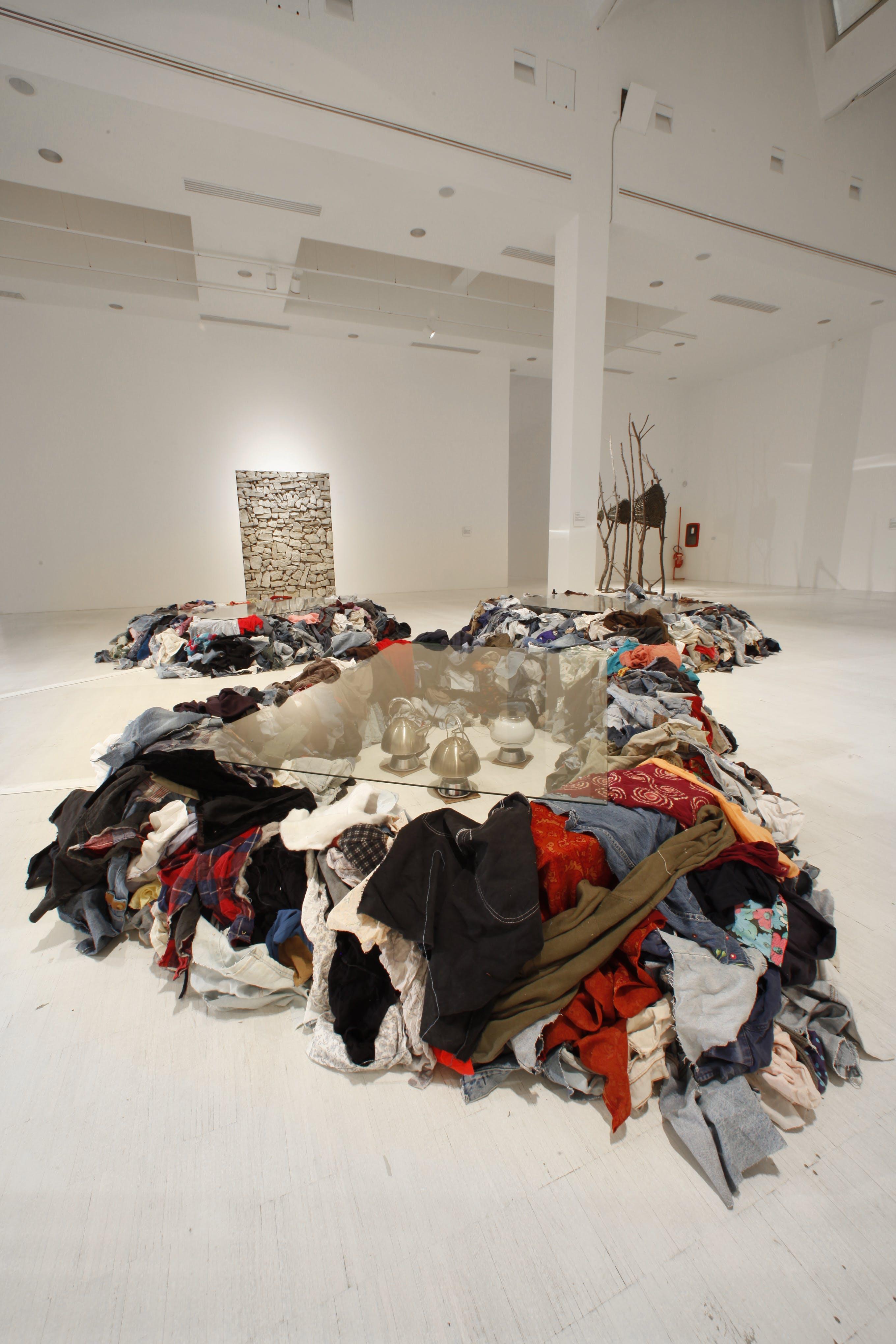 Arte Povera 1967-2011, curated by Germano Celant, 2011, Triennale Milano, photo by Dario Curatolo