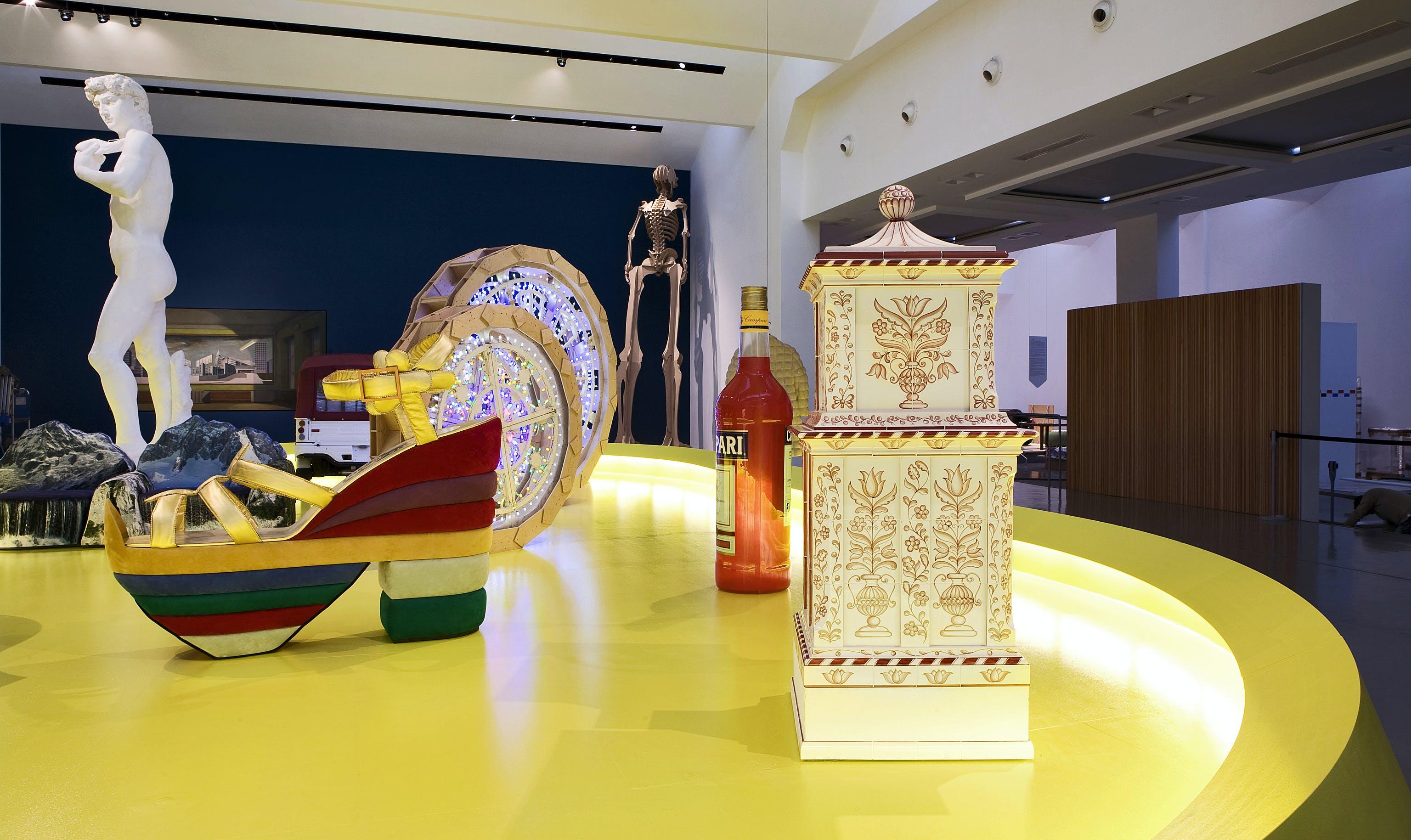 Quali Cose Siamo exhibition, 2010, Triennale Milano