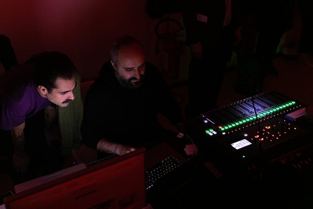 Carlos Casa e Davide Giannella