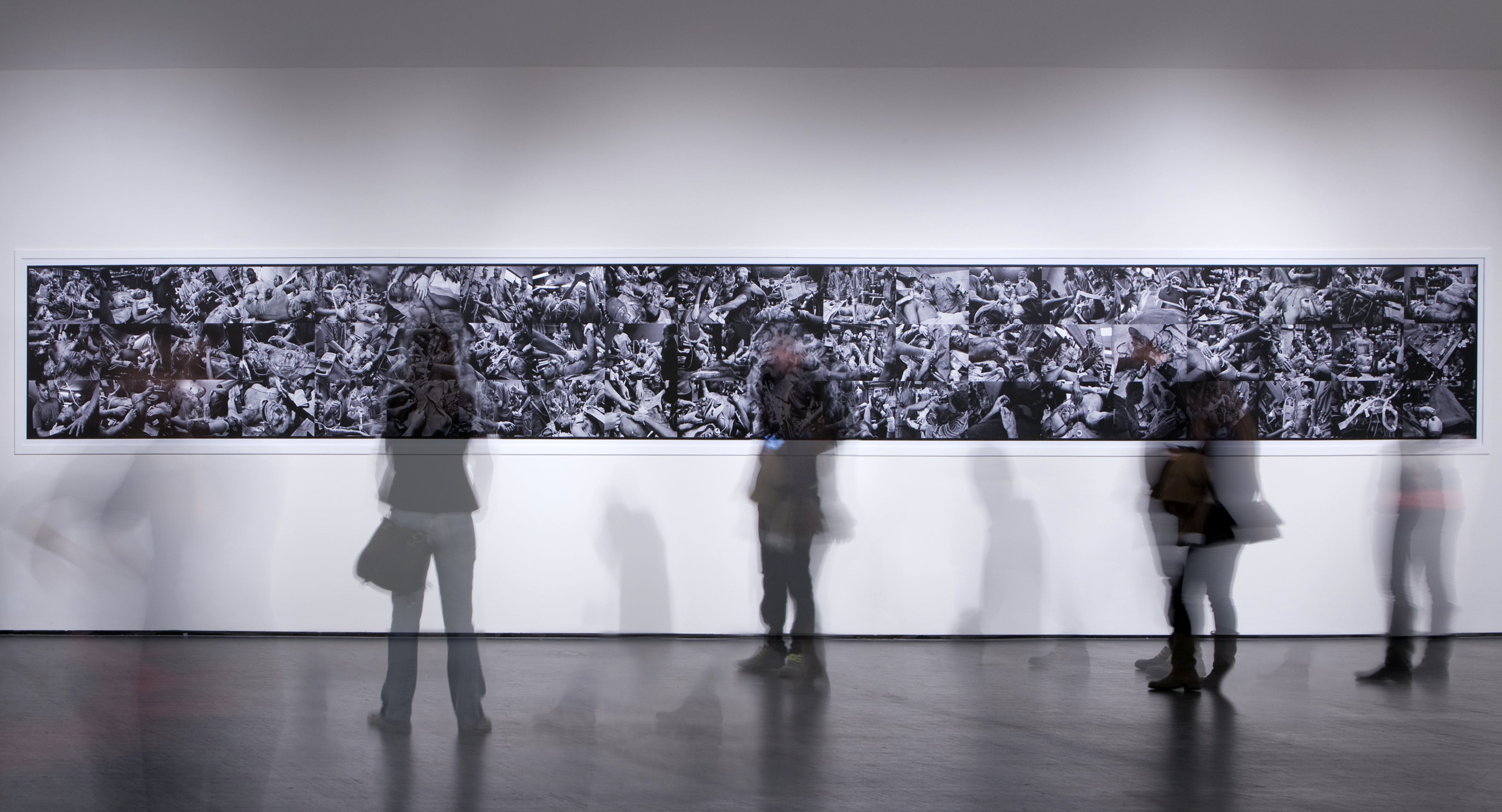 Disquieting images, curated by Germano Celant and Melissa Harris, 2010, Triennale Milano, photo by Fabrizio Marchesi