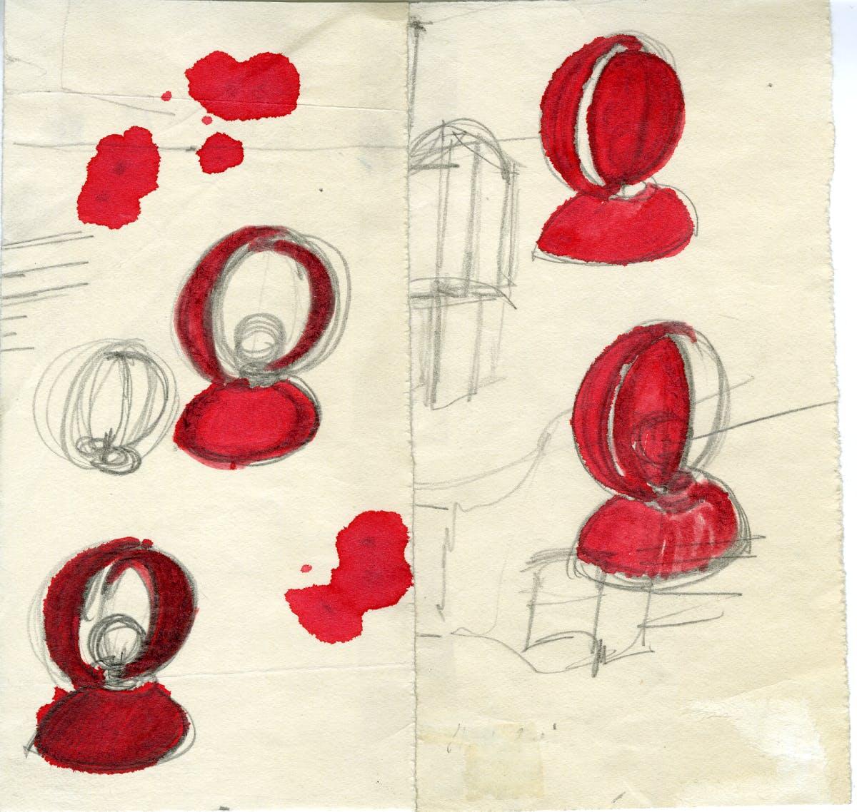 Eclisse, Artemide, ©Archivio Studio Magistretti – Fondazione Vico Magistretti