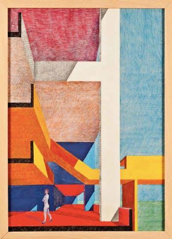 Carlo Aymonino, Sezione per il Gallaratese, 1967-72